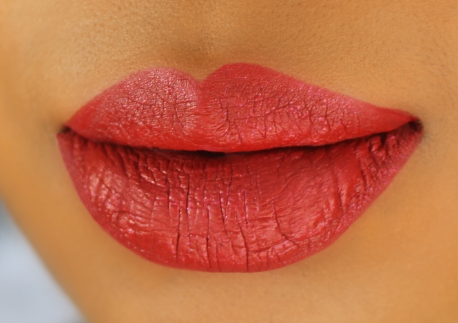 Candy Coated Closets Hoe Hoe Hoe Lip Swatch Side
