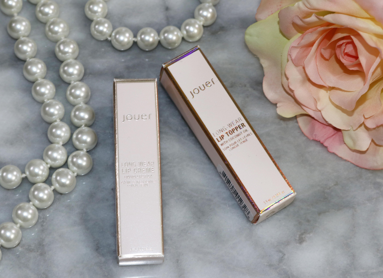 Jouer Cosmetics Cabernet Liquid Lipstick and Tan Lines Lip